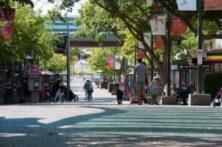 Community Using The Bridge Mall, Ballarat