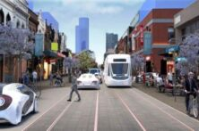 Chapel Street Reimagined With 100% Automated Shared Zero Emissions Vehicles